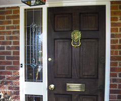 New entry door